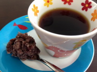 あんこ&コーヒー